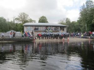 Boat house at Gartan