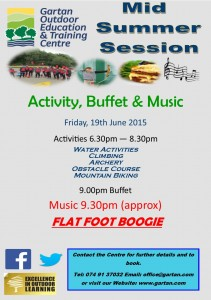 Activity Buffet and Music