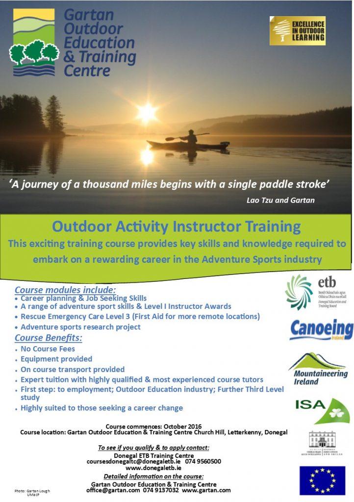 Course Flyer 2016 Draft 2 Instr Training