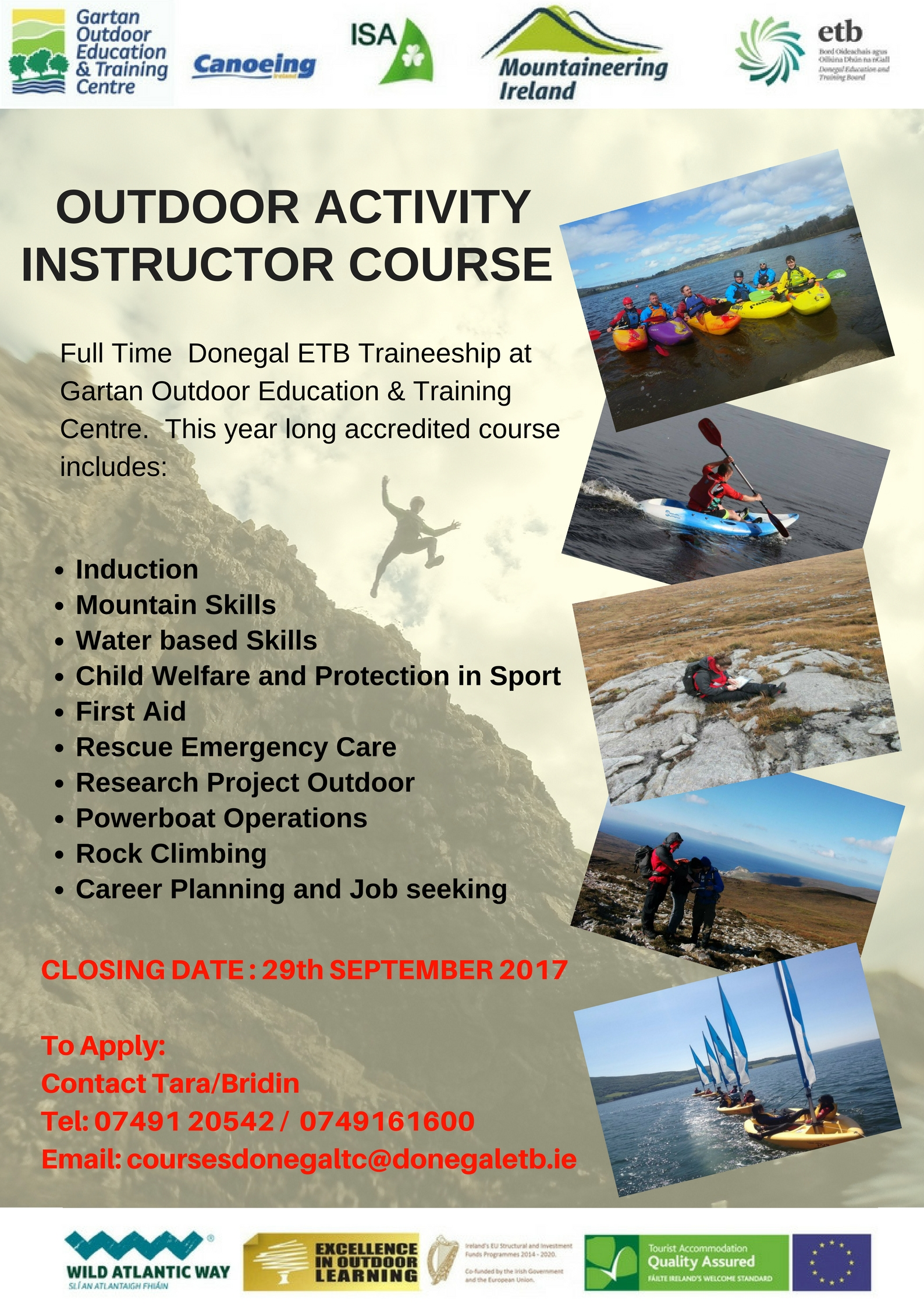 Outdoor Activity Instructor Course
