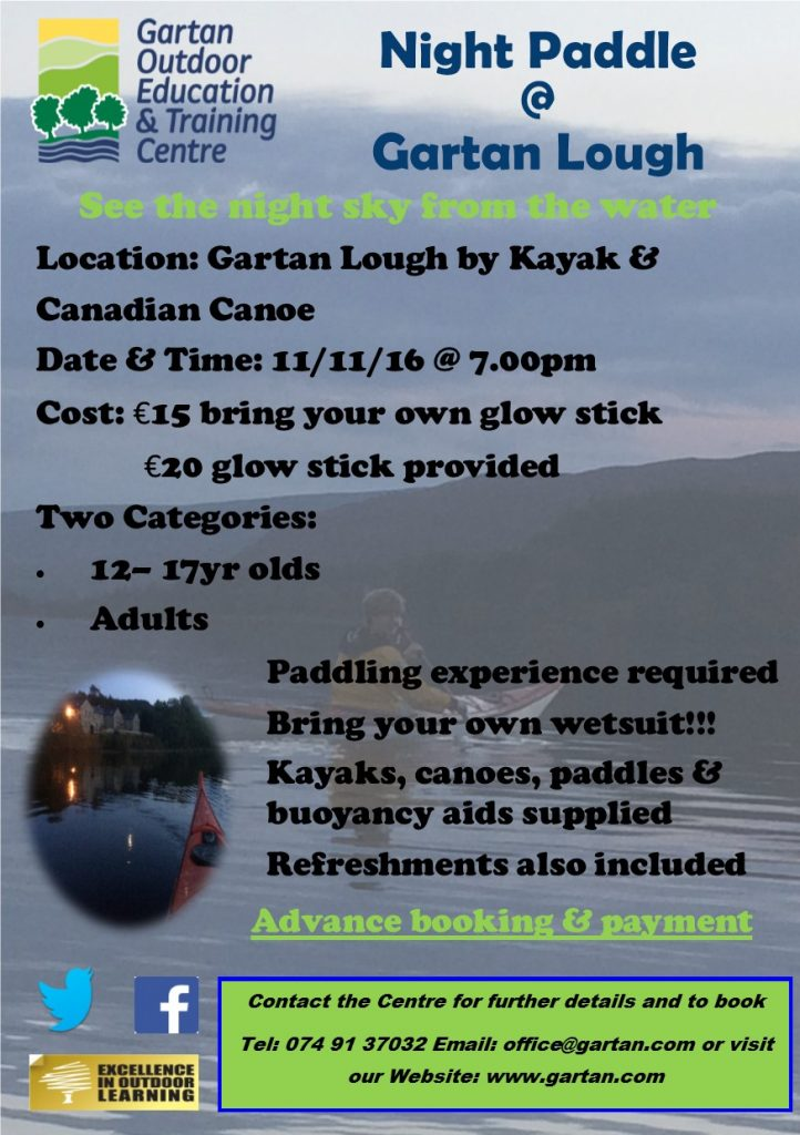 night-paddle