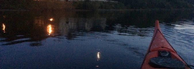 Night Paddle @ Gartan Lough