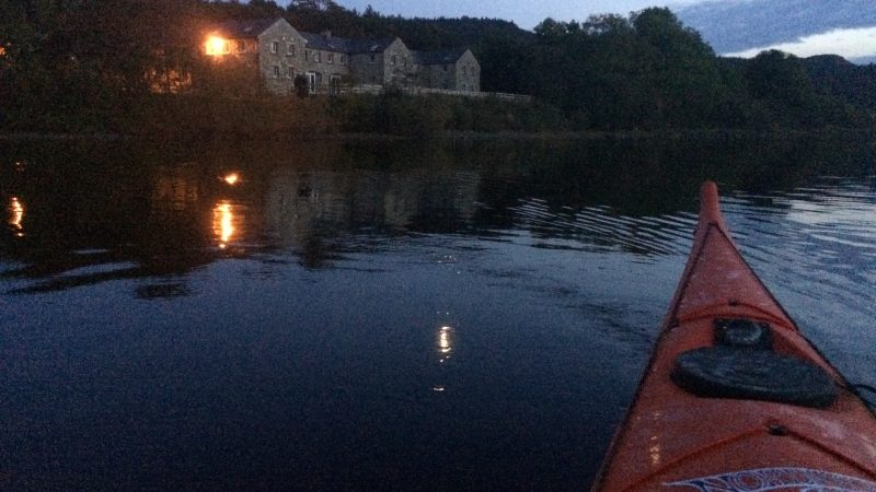 Night Paddle @ Gartan Lough