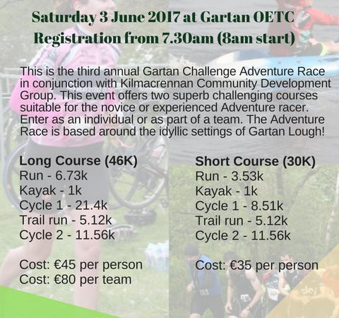 Gartan Challenge Adventure Race 2017