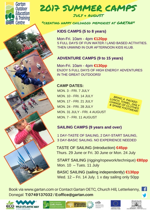 Gartan Summer Camps