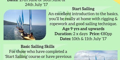 2017 Sailing Camps