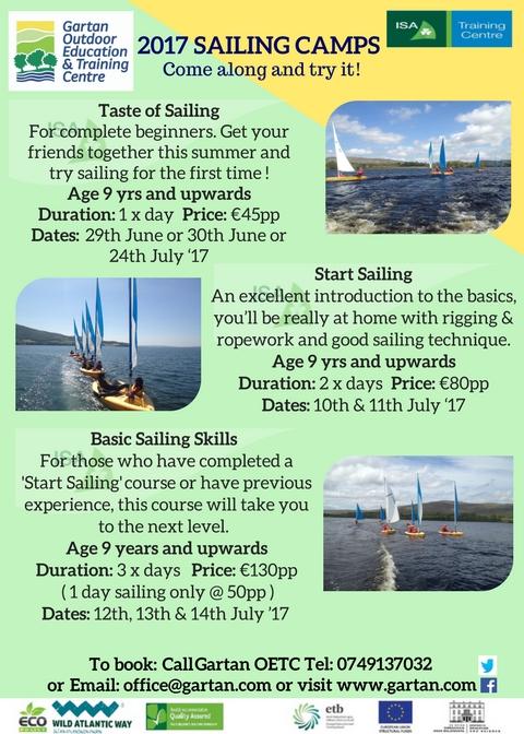 Gartan Sailing Camps
