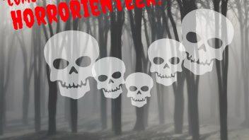 Let's Horrorienteer…..Run! Run!