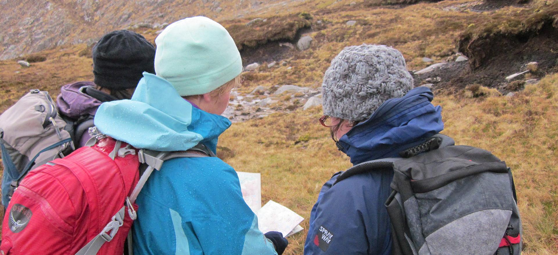 gartan outdoor centre - mountaineering course